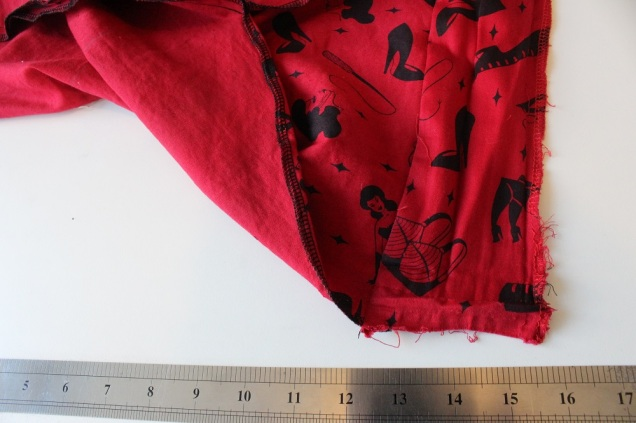 2,6 sewn waistband